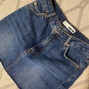 Top Shop jean skirt